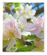 Apple Blossoms Art Prints Spring Trees Baslee Troutman Fleece Blanket