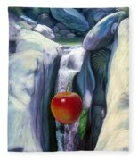 Apple Falls Fleece Blanket