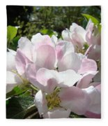 Apple Tree Blossoms Art Prints Baslee Troutman Fleece Blanket