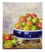 Apples In A Dish Fleece Blanket