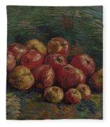 Apples Paris, September - October 1887 Vincent Van Gogh 1853 - 1890 Fleece Blanket