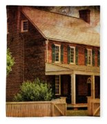 Appomattox Court House By Liane Wright Fleece Blanket