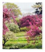 April Afterglow Fleece Blanket