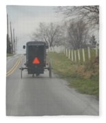 April Afternoon Buggy Ride Fleece Blanket
