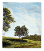 April Afternoon Fleece Blanket