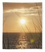 April Beach Fleece Blanket