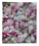April Blossoms Fleece Blanket