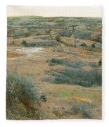 April Daydream Fleece Blanket