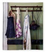 Aprons And Feather Duster Fleece Blanket