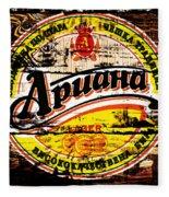 Apuaha Beer Sign Fleece Blanket
