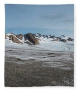 Apusiaquik Glacier Greenalnd Pano 7334-7351 Fleece Blanket