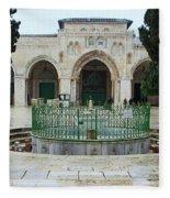 Aqsa Main Arches Fleece Blanket