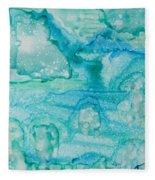 Aqua Dream Fleece Blanket