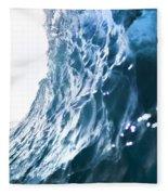 Aqua Ramp - Triptych Part 3 Of 3. Fleece Blanket