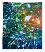 Aquarium Galaxy Fleece Blanket