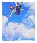 Aquarius Rising Fleece Blanket