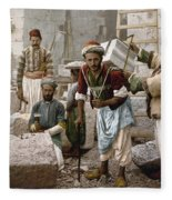 Arab Stonemasons, C1900 - To License For Professional Use Visit Granger.com Fleece Blanket