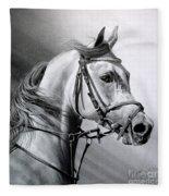 Arabian Beauty Fleece Blanket