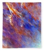 Australian Desert From Space Fleece Blanket