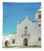 Mission La Bahia Fleece Blanket