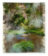 Aravaipa Creek Fleece Blanket