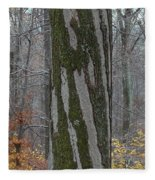 Arboreal Design Fleece Blanket