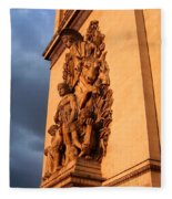 Arc De Triomphe Fleece Blanket