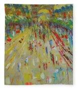 Arc De Triomphe Paris Fleece Blanket