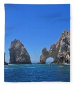Arch At Cabo San Lucas Fleece Blanket