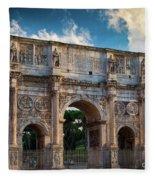 Arch Of Constantine Fleece Blanket