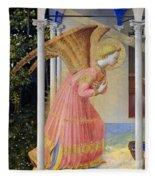 Archangel Gabriel Fleece Blanket