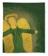 Archangel Raphael  Fleece Blanket