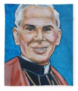 Archbishop Fulton J. Sheen Fleece Blanket