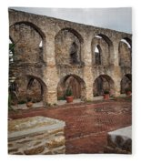 Arches And Arches Fleece Blanket