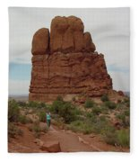 Arches Formation 23 Fleece Blanket