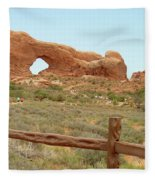 Arches Formation 35 Fleece Blanket