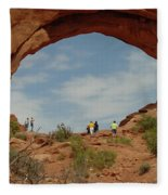 Arches Formation 38 Fleece Blanket