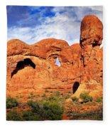 Arches Landscape 3 Fleece Blanket