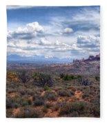 Arches Landscape Fleece Blanket