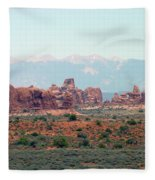 Arches National Park 19 Fleece Blanket