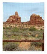Arches National Park 23 Fleece Blanket