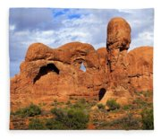 Arches National Park 8 Fleece Blanket