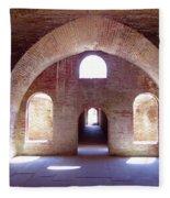 Arches Of Sunshine Fleece Blanket