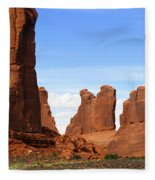 Arches Park 2 Fleece Blanket