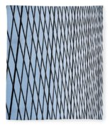 Architectural Abstract - 4 Fleece Blanket