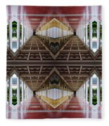 Architectural Nightmare II Fleece Blanket