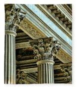 Architecture Columns Palace King Louis Xiv Versailles  Fleece Blanket