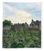 Architecture Edinburgh II Fleece Blanket