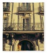 Architecture In Paris Fleece Blanket