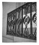 Architecture Of Vernon Place Fleece Blanket